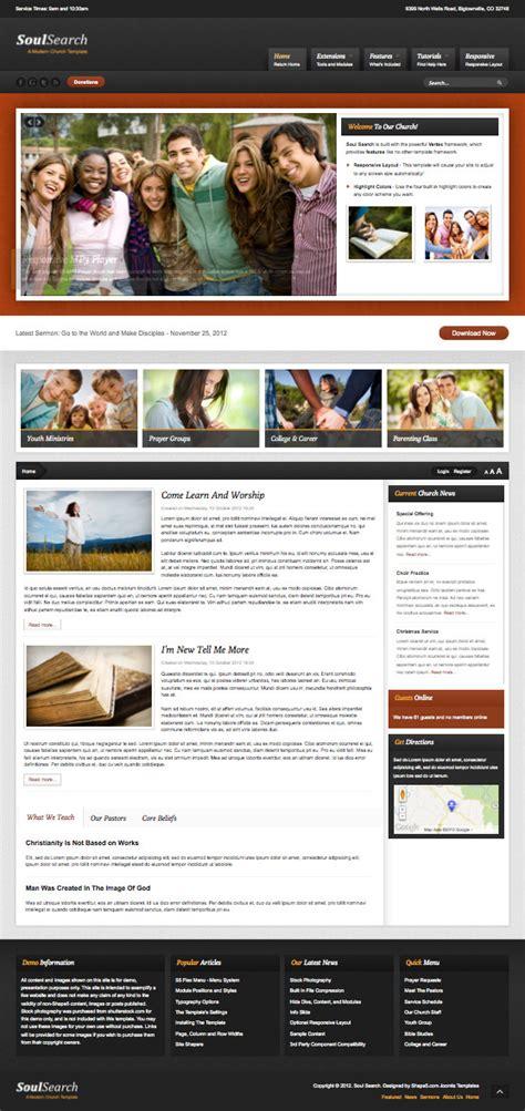 Soul Search soul search responsive joomla church template joomla 3 0