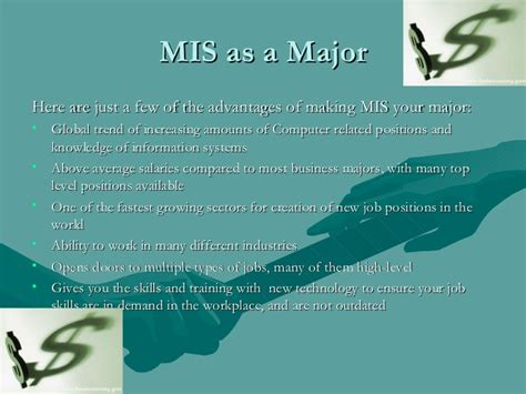 The Average Salary Of An Mis Major With An Mba by Advantages And Benefits Of Mis In Your Career