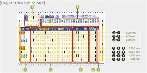 boat race tickets boat race heiwajima types of betting tickets