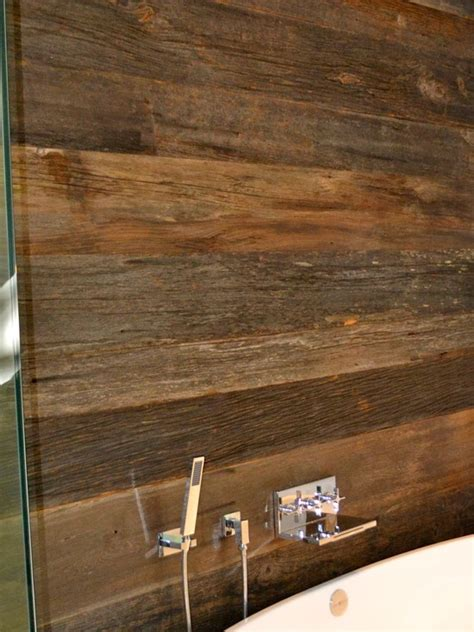 reclaimed wood divider reclaimed wood wall in a bathroom divider between vanity