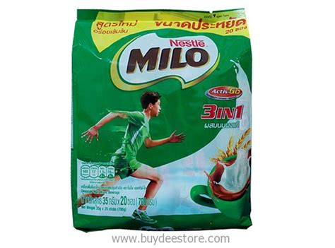 Nestle Milo 3 In 1 Malaysia nestle milo 3 in 1 activ go chocolate malt mixed beverage