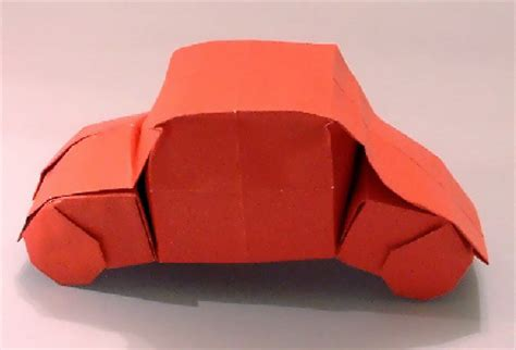 Origami Cars - origami cars gilad s origami page