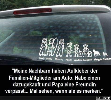 Coole Mercedes Aufkleber by Meine Nachbarn Haben Aufkleber Der Familien Mitglieder Am