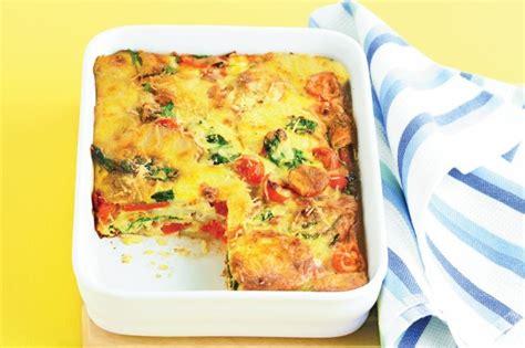 printable easy bake oven recipes easy oven baked frittata recipe taste com au
