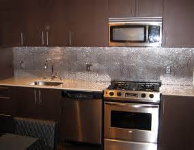 aluminum backsplash kitchen stainless steel kitchen backsplash ideas