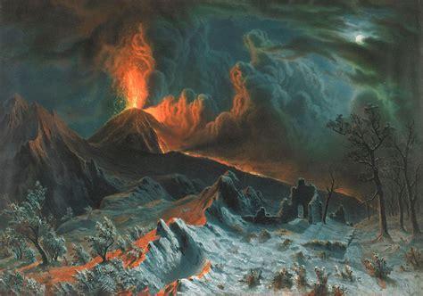 Bedford Furniture by File Mount Vesuvius At Midnight By Albert Bierstadt Bma