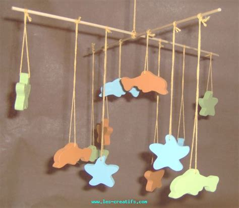 mobile chambre enfant mobile en bois pour chambre d enfant
