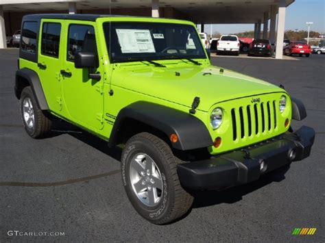 jeep unlimited green 2013 jeep wrangler unlimited gecko green for sale ohio