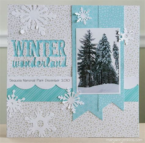 christmas scrapbook layout titles winter wonderland layout love the title design colors