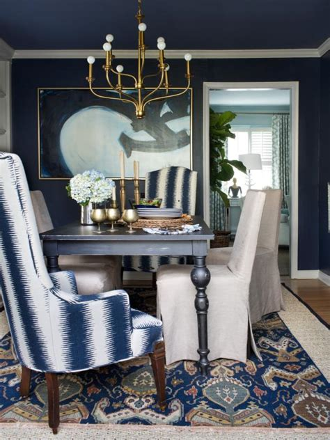 Blue Dining Room Accessories Photo Page Hgtv