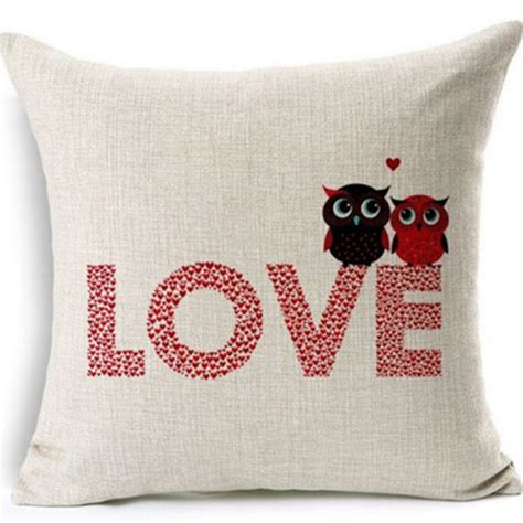 decorative pillows with words hot romantic words quotes linen cushion cover pillow case