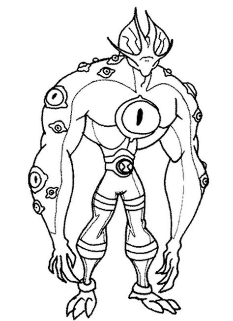 Ben 10 Coloring Pages Coloring Pages To Print Ben Ten Coloring Pages