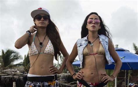 x videos com en el camion integrantes de acapulco shore aparecen en revista