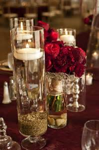 red and gold wedding monroe golf club simply beautiful events