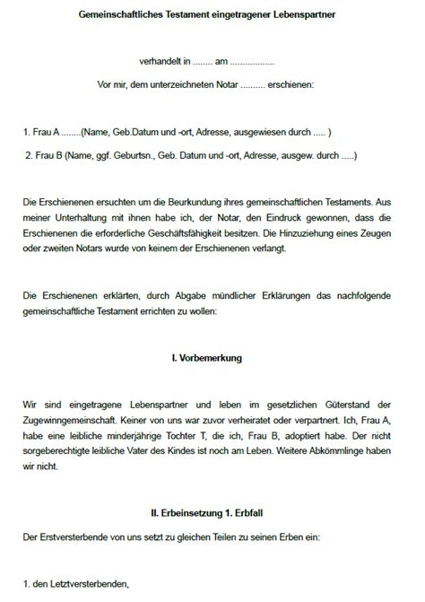 Testament Schreiben Handschriftlich Muster 16 Testamente Im Sparpaket Sofort Zum