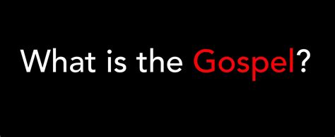What Is The The Gospel Great Commission Society