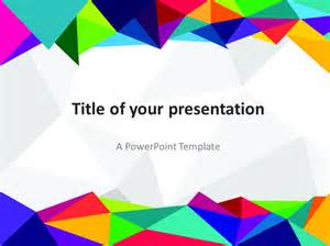 Themed Powerpoint Templates by Abstract 80s Powerpoint Template Presentationgo