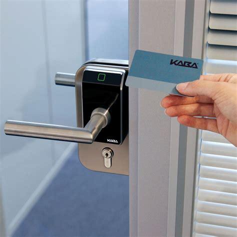 Ef680e White Kaba Digital Door Lock ookaba electronic door locks readers kaba c lever compact