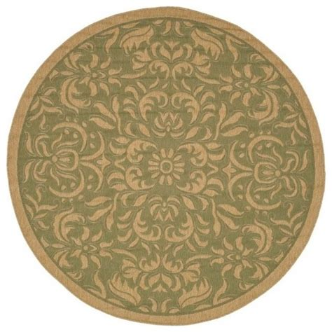 Modern Circular Rugs Synthetic Rug Contemporary Area Rugs By Shopladder