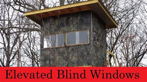 bow blind windows elevated blind windows are finished