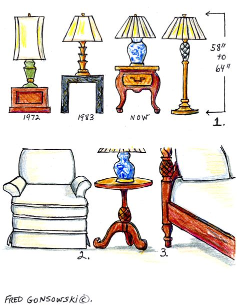 how high should my bed be the right height of a table l for your end table