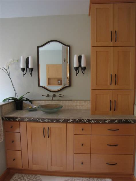 bathroom upper cabinets best vanity tower for bath vanities built in re best