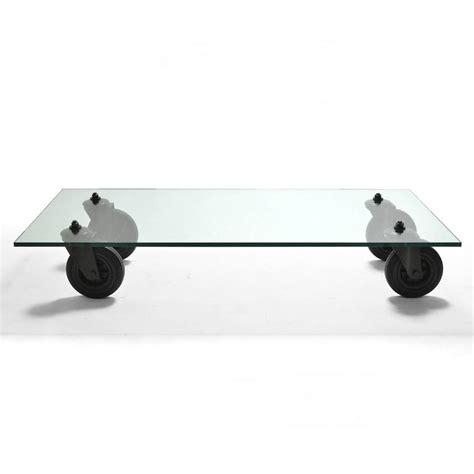 gae aulenti tavolo con ruote gae aulenti quot tavolo con ruote quot coffee table by fontana