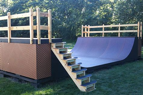 how to build a halfpipe in your backyard news