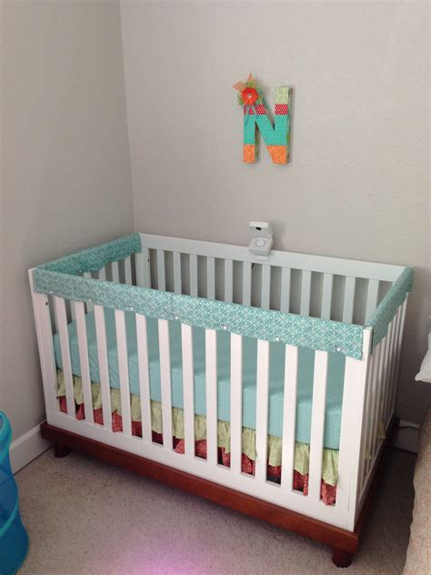 Diy Crib Rail Cover by Nursery Decor Crib Rail Cover Litcentric