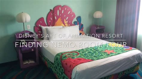 photo tour of a finding nemo family suite at disney s art disney s art of animation resort finding nemo family