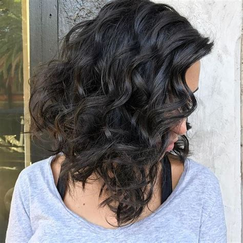 the lob hairstyle for curly hair lob haircut naturally curly hair www imgkid com the