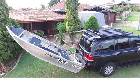 boat loader using car winch home made boat loader youtube