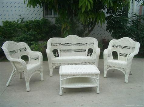 white rattan outdoor furniture durable patio furniture from wicker and rattan sets