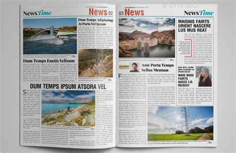 15 best indesign newspaper templates 2016 tutorial zone