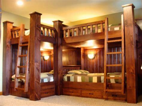 Bunk beds rustic kids new york by adirondack carpentry llc