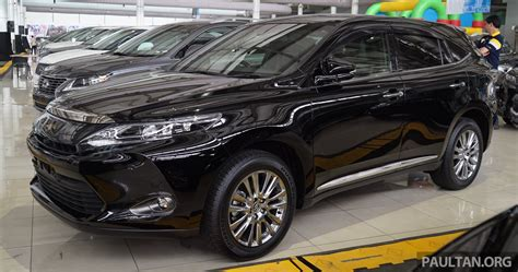 toyota harrier 2016 interior 2016 toyota harrier united cars united cars