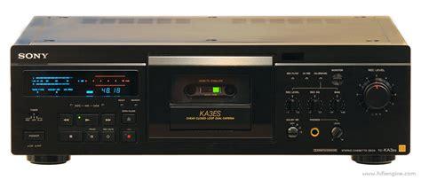 stereo cassette deck sony tc ka3es manual stereo cassette deck hifi engine