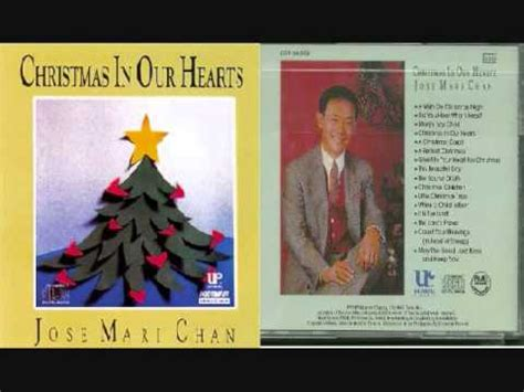 christmas songs jose mari chan lyrics jose mari chan in our hearts lyrics letssingit