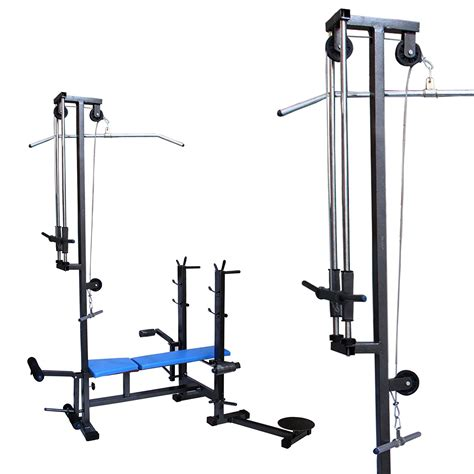 bench in gym mirafit fully adjustable folding gym weight bench