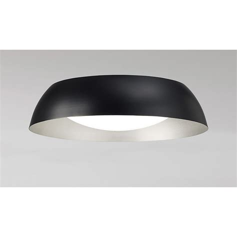 mantra argenta single led small flush ceiling light in