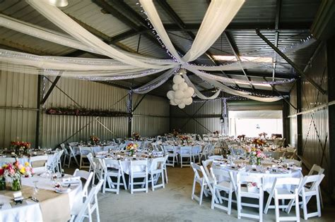 Shed Wedding Venues by Wedding Reception In A Shed Wedding