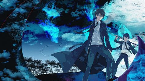 wallpaper hd blue anime blue anime wallpapers group 68