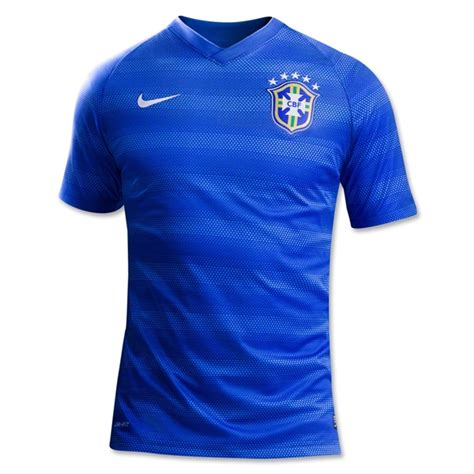 Jersey Brazil Away World Cup 2014 2014 brazil away blue soccer jersey shirt brazil jersey shirt sale