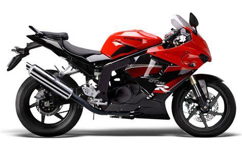 125 Motorrad Liste by Liste Der Hyosung Motorr 228 Der