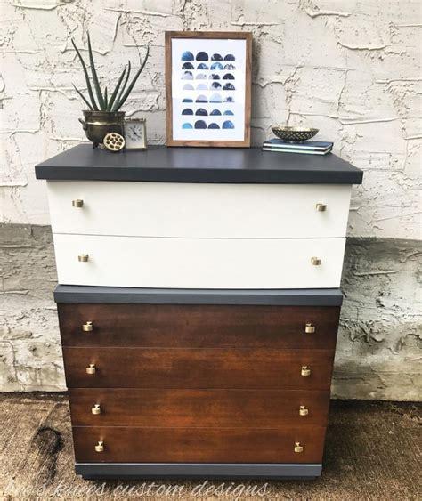 antique walnut gel stained dresser mcm dresser in antique walnut milk paint general finishes design center