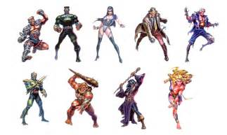 eternal champions characters by frozendreamer on deviantart