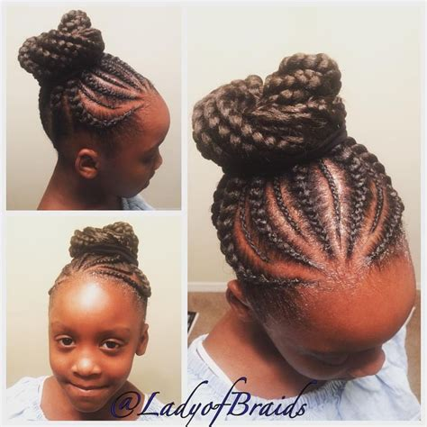 kids godess braids with bun 121 best images about protective natural extension