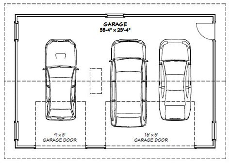 dimensions of a 3 car garage 28 garage dimensions on 3 1000 images about garage on 3 car garage