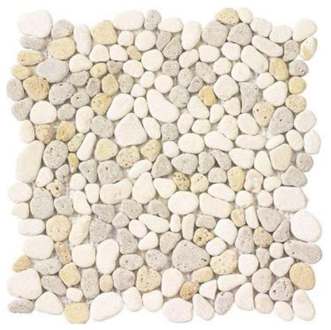 creama river rock mosaic contemporary bath products