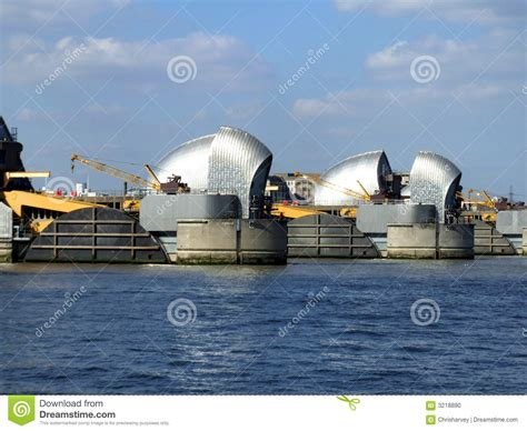 thames barrier animation the thames barrier stock photo image 3218890
